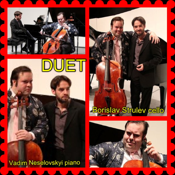 Duo Borislav Strulev and Vadim Neselovskyi